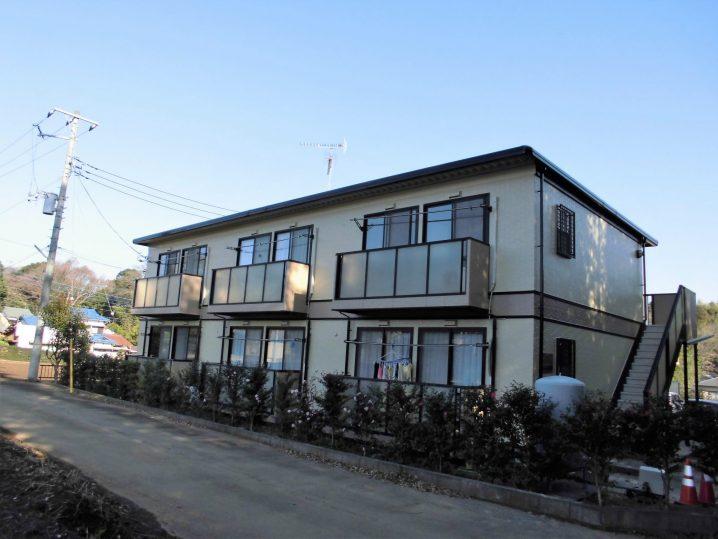 千葉県八街市榎戸 外壁・屋根塗装、外装工事 施工前